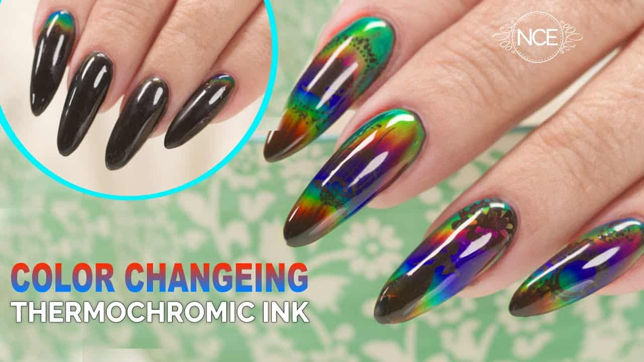 Color Changing Thermochromic Ink With Stamping Design Luxxe Cosmetics